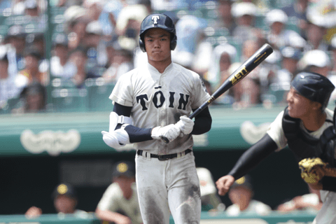 根尾昂(大阪桐蔭)は木製で本塁打。【野手編】U-18で見えた! プロで通用するドラフト候補は!?